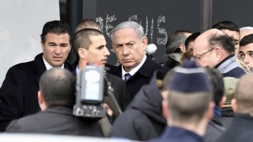 PM Bibi en mercado cosher París