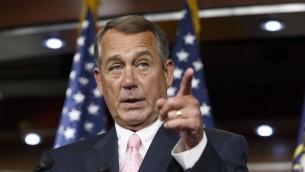 Presidente de la Camara de Representates USA Jhon Boehner