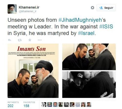 Twttr de Khamenei.ir @khamenei_ir