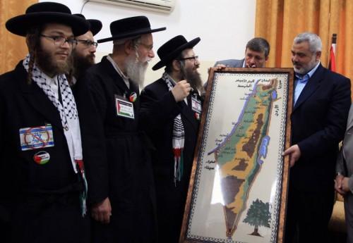 Utra ortodoxo con Hamas
