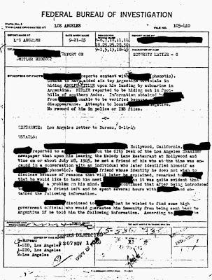 FBI - Escape de Hitler a Argentina - 1 ok