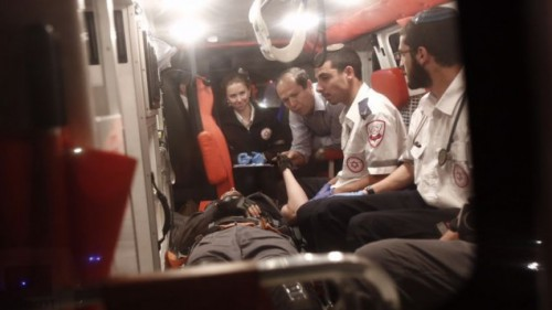 tres policias heridos