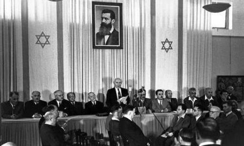 14 Mayo Inglaterra abandona el mandado sobre Israel