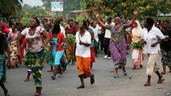 Los disturbios comenzaron el 26 de abril