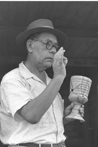 Eleazar Sukenik, fotografiado en 1951 (Eldan David - National Collection Foto / Wikipedia)
