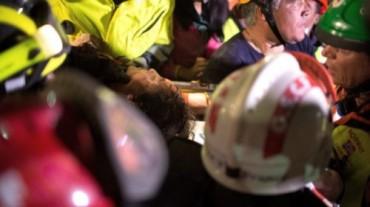 nepal rescatada a los 5 dias por idf