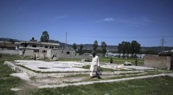 Ruinas del escondite de Ben Laden Abbottabad Pakistan