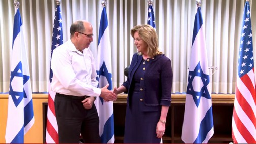 Secretary-James-Visits-Israel-to-Expand-US-Israel-Military-Relations