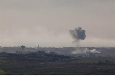 Ataque aereo en Gaza