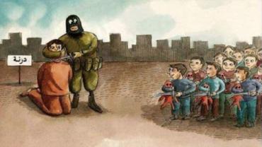 ISIS enseñando a niños a degollar