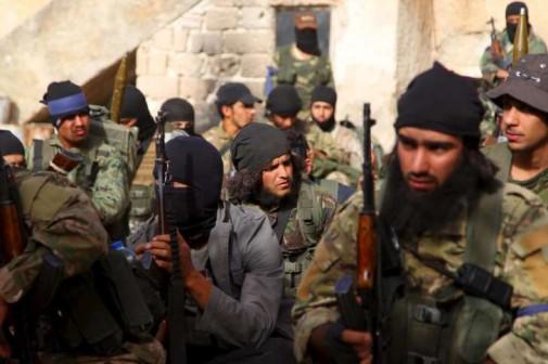 terroristas del ISIS