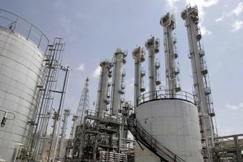 Planta de Producción de Agua Pesada cerca de Arak (Foto: AFP)