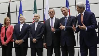 Ministros de Relaciones Exteriores en el acuerdo de Viena (Foto: AP)