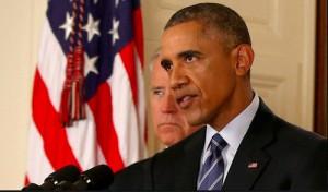 Barack Obama anunció el acuerdo de Irán el 14 de julio.