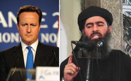 Cameron y Abu Bakar del ISIS