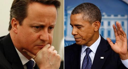Cameron y Obama