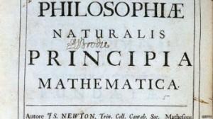 Carátula del libro considerado como la base de la ciencia moderna.