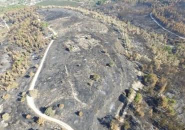 Ruinas arqueologicas de Hovav en Israel