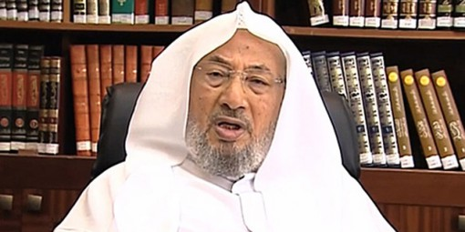 Sheik Yusuf al-Qaradawi-HP lider espiritual Hermanos Musulmanes