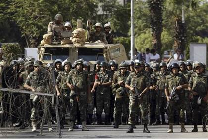 Soldados Egipcios