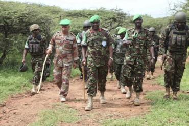 Teniente General Jonathan Rono de AMISOM somalia