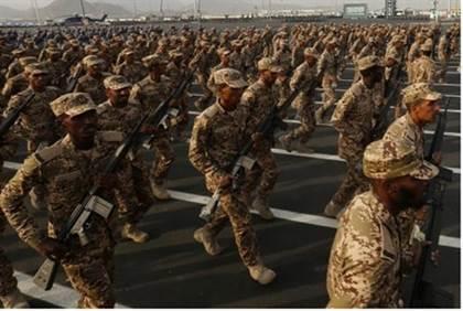 Tropas saudíes