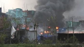 La onda expansiva de las explosiones llegó a sentirse hasta a diez kilómetros de distancia.