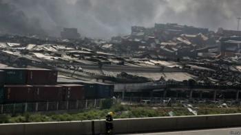 La fuerza de las explosiones se sintió a muchos kilómetros de distancia del almacén donde se produjeron, en la ciudad porteña.