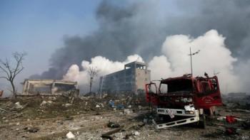 Las explosiones fueron tan fuertes que quedaron registradas como actividad sísmica en China.