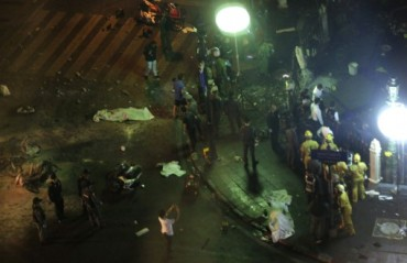 """VARIOS MUERTOS TRAS UNA EXPLOSI""""N EN EL CENTRO DE BANGKOK"""