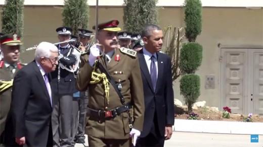 Abbas y Obama en Ramala 21-3-13