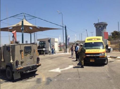 Atentados de acuchillamientos contra IDF Agosto 2015