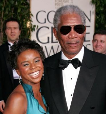 E' Dena Hines nieta de Morgan Freeman