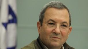 El ex primer ministro Ehud Barak (Crédito de la foto: Miriam Alster / Flash90)
