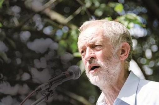 Jeremy Corbyn del partido laborista britanico