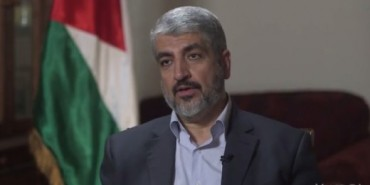 Khaled Meshaal Jefe político de Hamas