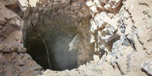 Túnel terrorista Hamas descubierto por el ejército israelí en julio pasado durante la Operación de protección perimetral. (Foto: IDF) Read more at http://www.breakingisraelnews.com/47420/idf-testing-new-technology-to-combat-threat-of-terror-tunnels-idf/#TTOKiYVSd5cl41rW.99