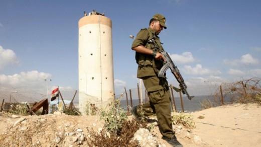 Terrorista de Hamas frontera de Rafaj con Egipto