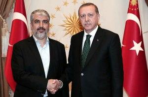 Cumhurbaşkanı Recep Tayyip Erdoğan, Hamas Siyasi Büro lideri Halid Meşal'i kabul etti. (Cumburbaşkanlığı / Murat Çetinmühürdar - Anadolu Ajansı)