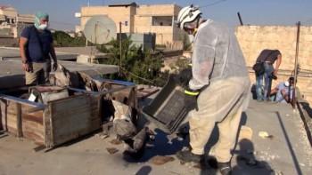 El gobierno británico está analizando muestras para determinar si EI usó gas mostaza, según pudo saber la BBC.