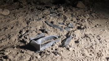El cohete disparado a Sderot. (Foto: Roee Idan)