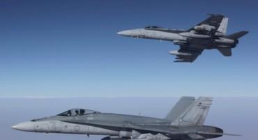 Aviones de combate australianos