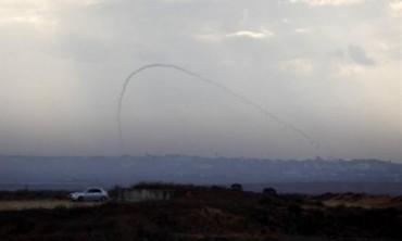 Cohete pali cae en Gaza