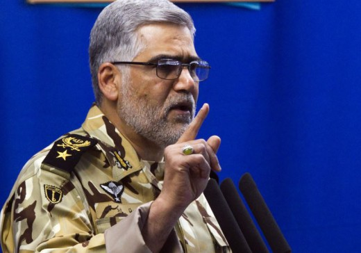 Comandante fuerzas tierra iran Ahmadreza Pourdastan