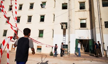 Cyber City campo refugiados palis en Jordania