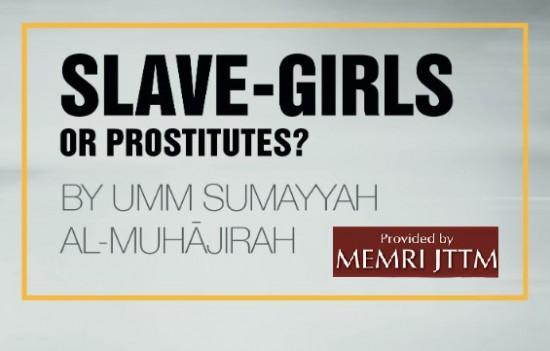 Esclavas sexuales o prostitutas para el ISIS