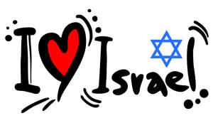 I Love Israel banner