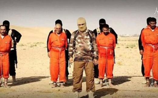 ISIS quema vivos a 4 prisioneros