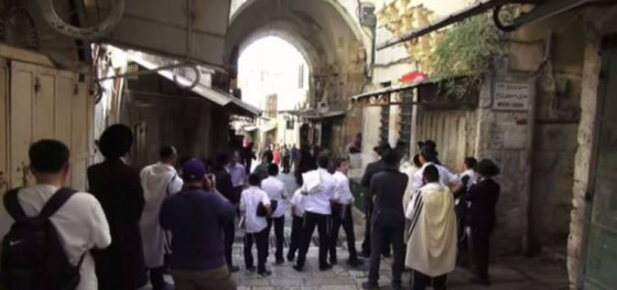 Muslims-Instigate-Confrontation-with-Jews-in-Old-City-Jerusalem-852x400