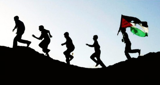 Palis con bandera rota99encuestapaz